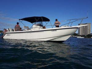 Used Boston Whaler Outrage CC 250S Warranty Center Console Fishing Boat For Sale