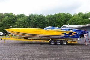 Used Mti 40 Power Catamaran Boat For Sale