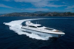 Used Mangusta 108 Motor Yacht For Sale