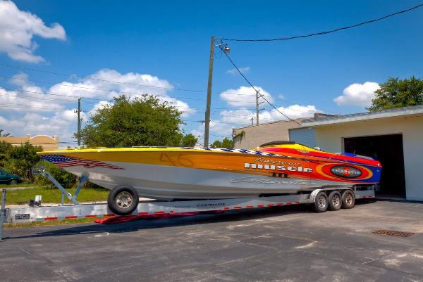 Used Cigarette 46 Rough Rider Xp Runabout Boat For Sale