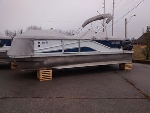 Used G3 V322rc Pontoon Boat For Sale