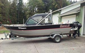 Used Rogue Coastal 20 Aluminum Fishing Boat For Sale