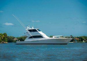 Used Viking 61 Enclosed Bridge Sports Fishing Boat For Sale