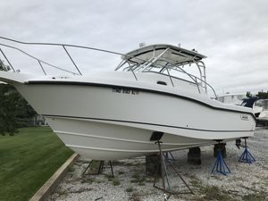 Used Boston Whaler 285 Conquest Cuddy Cabin Boat For Sale