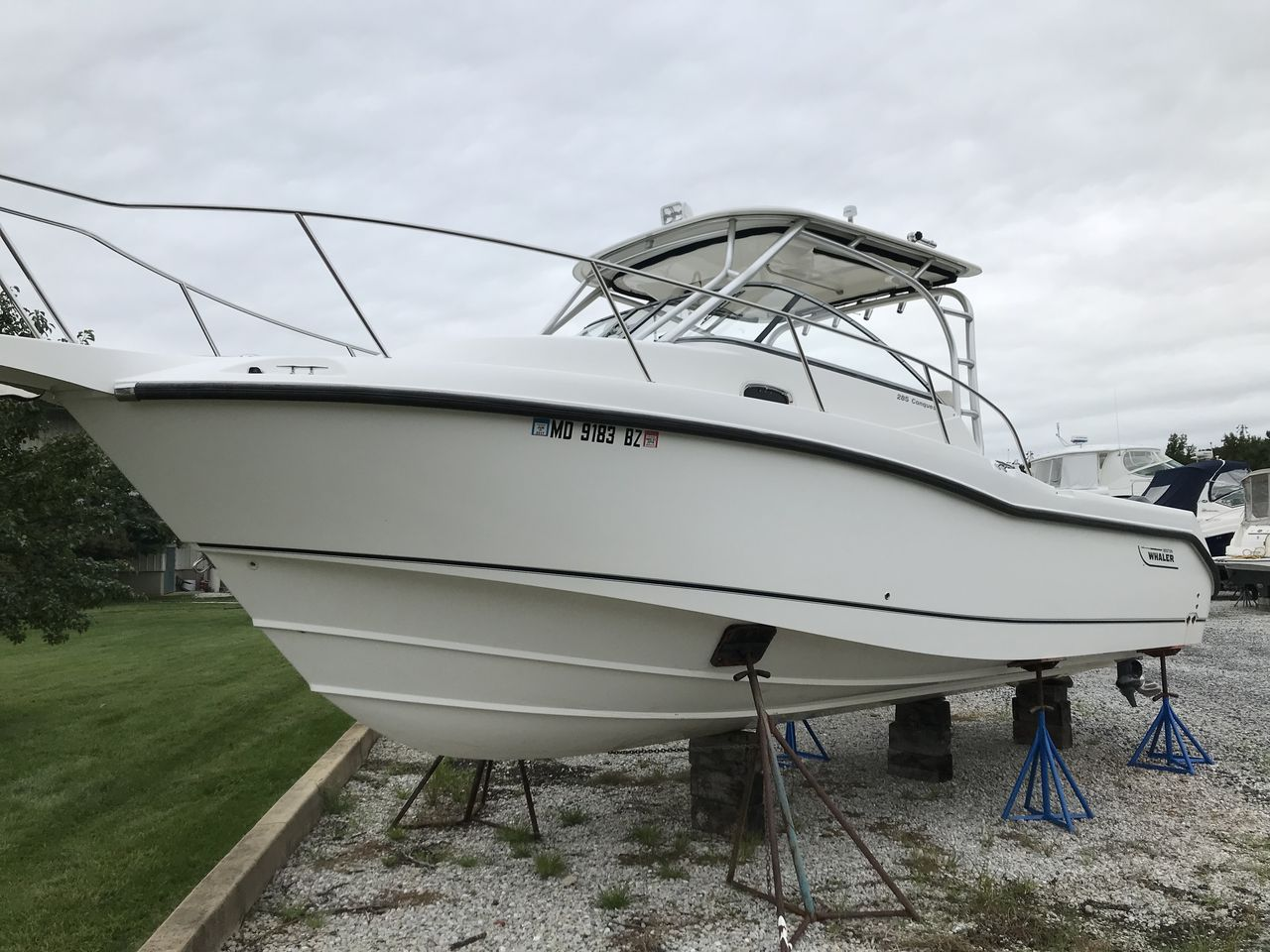 2008 Used Boston Whaler 285 Conquest Cuddy Cabin Boat For