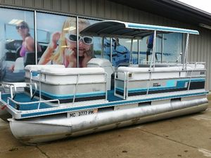 Used Harris 200classic Pontoon Boat For Sale