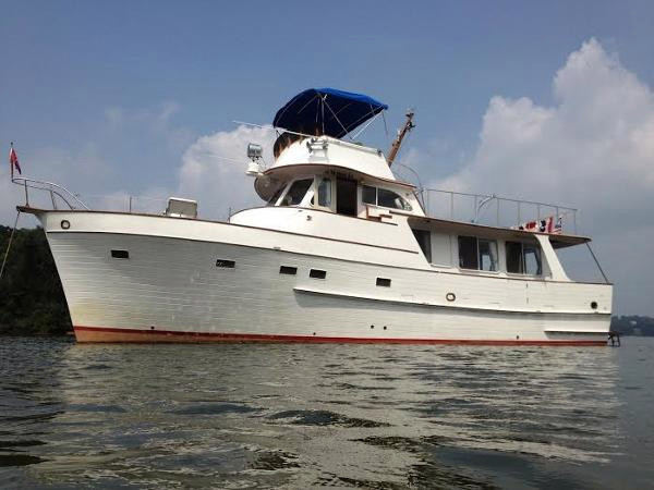 Used Grand Banks Alaskan 46 Trawler Boat For Sale