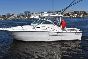 Used Rampage 30 Express Cuddy Cabin Boat For Sale