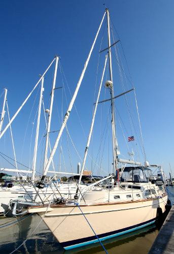 Used Island Packet Yachts 445 Cruiser Sailboat For Sale