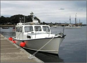 Used Custom Five Islands Downeast Cruising Yacht Downeast Fishing Boat For Sale