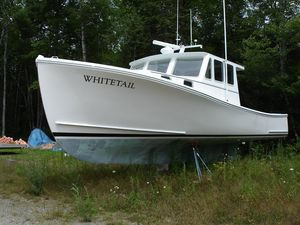 Used Lowell Brothers Lobster Boat - Rigged For Tuna Commercial Boat For Sale