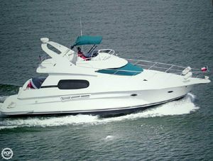 Used Silverton 410 Sport Bridge Aft Cabin Boat For Sale