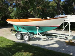 Used Herreshoff Golden Era Petrel Daysailer Sailboat For Sale