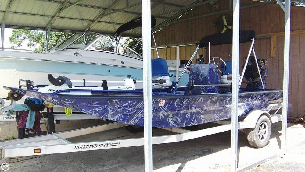 Mud Boats For Sale >> 2016 Used Custom Built 18 Bowfish Mud Duck Fish Frog Flats Fishing