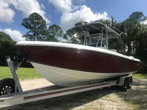 Used Bluewater 2850 Open Center Console Fishing Boat For Sale