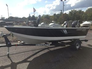 New Crestliner 1600 Vision1600 Vision Bass Boat For Sale