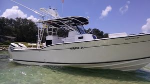 Used Mirage 34CC Center Console Fishing Boat For Sale