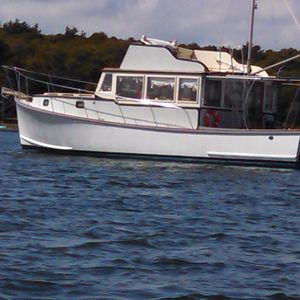 Used Stanley 44 Downeast Fishing Boat For Sale