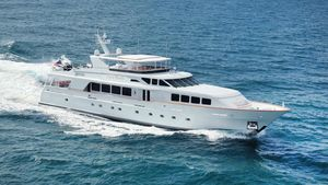 Used Trinity Yachts 124' Raised Pilot House 2002/2018 Motor Yacht For Sale