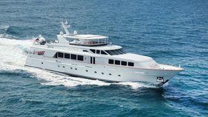 Used Trinity Yachts 124' Raised Pilot House 2002/2018 Motor Yacht For Sale