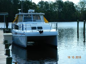 Used Endeavour 36 Power Catamaran Boat For Sale
