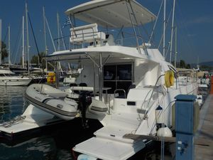 Used Leopard 39 PC Extended Hull Power Catamaran Boat For Sale