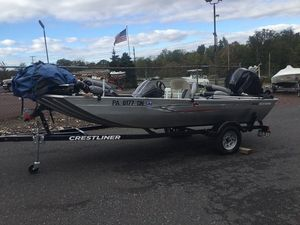 Used Crestliner Storm 16Storm 16 Freshwater Fishing Boat For Sale