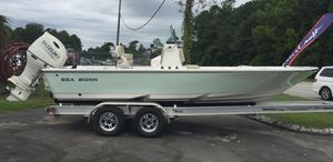 New Sea Born FX22 Bay Saltwater Fishing Boat For Sale