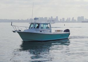 Used Steiger Craft 255 DV Miami Express SF Sports Fishing Boat For Sale