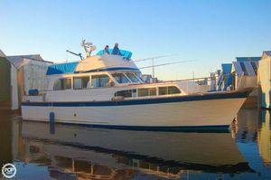 Used Custom Built Monk 46 Trawler Boat For Sale