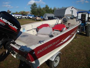 Used Smoker Craft Resorter 151Resorter 151 Freshwater Fishing Boat For Sale