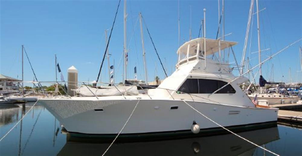 Used Post Marine 42 Convertible Boat For Sale