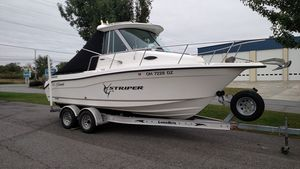 Used Seaswirl 2101 WAC Sports Fishing Boat For Sale