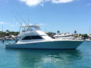 Used Viking 55 Convertible MTU Mezzanine Convertible Fishing Boat For Sale