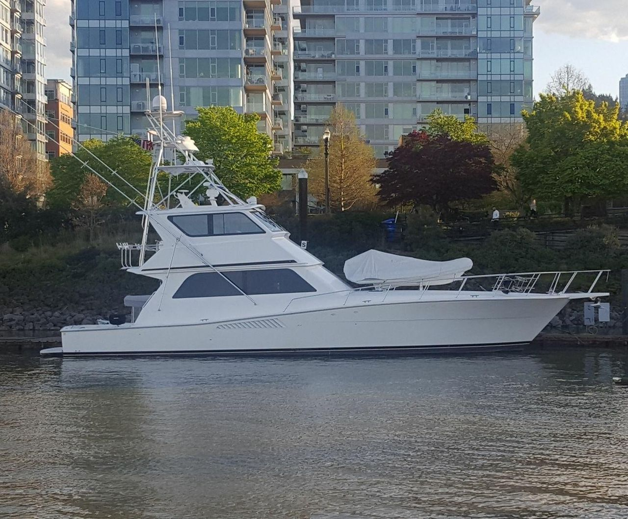 Used Viking Sport Fisherman Motor Yacht For Sale