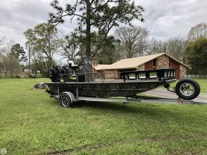 Used Custom Aluminum 18 Aluminum Fishing Boat For Sale