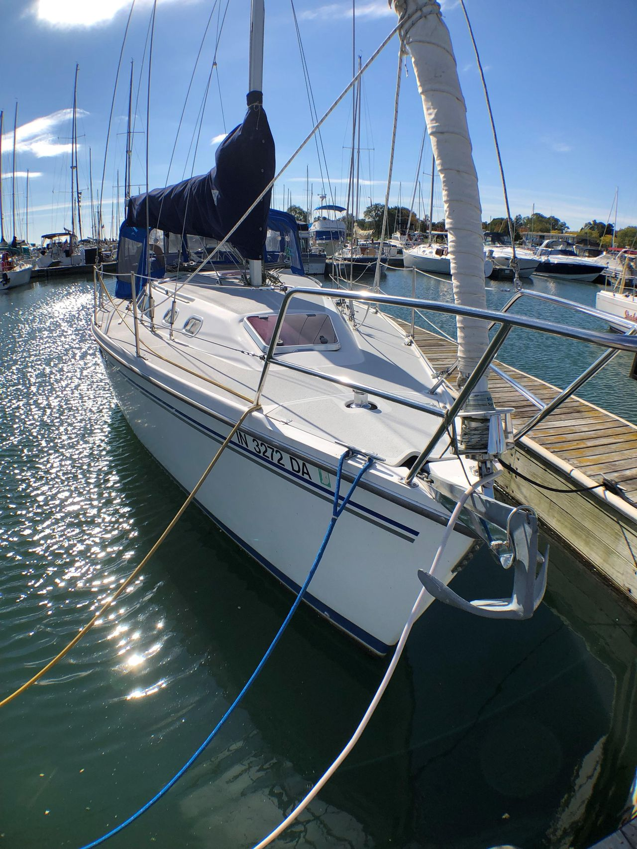 Catalina 320 Owners Manual 27 Wiring Diagram 2005 Used Racer And Cruiser Sailboat For Sale 85 900 Rh Moreboats Com Interior Drawing
