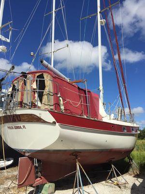 Used Kadey-Krogen 38 Cruiser Sailboat For Sale