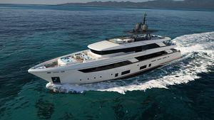 New Ferretti Yachts Custom Line Navetta 42M Mega Yacht For Sale