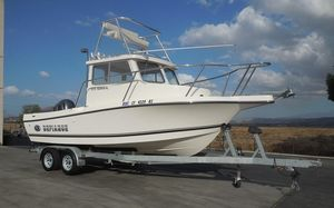 Used Defiance 220 Admiral NT220 Admiral NT Pilothouse Boat For Sale