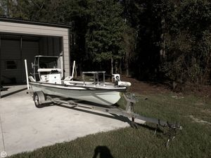 Used Bossman 18 Tailspotter Guide Skiff Fishing Boat For Sale