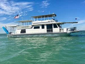 Used Gibson Yacht Model House Boat For Sale