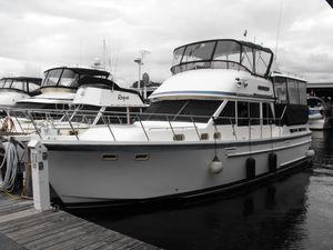 Used Hershine 42 Trawler Boat For Sale