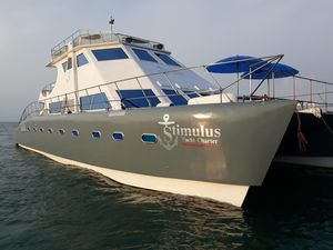 Used Schionning 60 Power Catamaran Boat For Sale