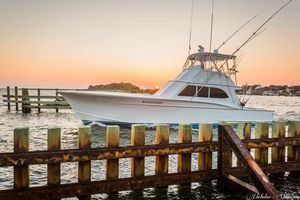 Used Custom Carolina OMIE Tillet Sportsman Sports Fishing Boat For Sale
