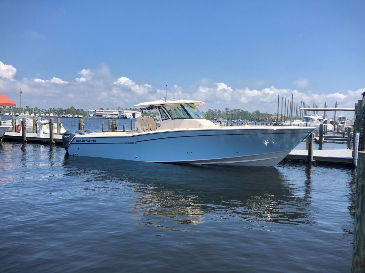 2019 New Grady-White Canyon 376 Sports Fishing Boat For Sale