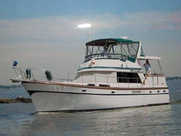Used President Yachts Double Cabin Motor Yacht Trawler Boat For Sale