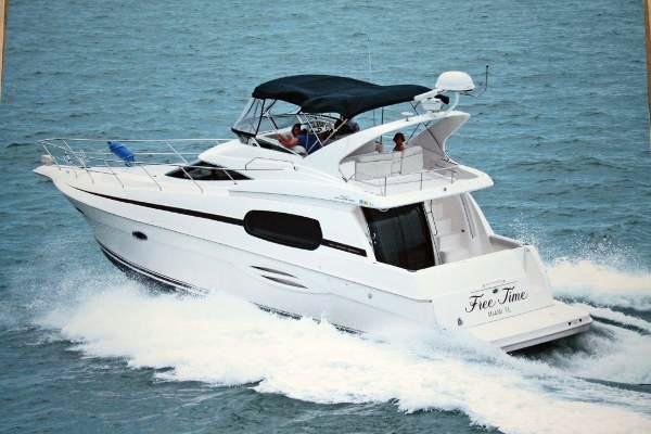 Used Silverton 410 Sport Bridge Sports Fishing Boat For Sale