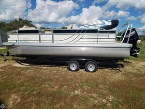 Used Landau Atlantis 230 SC Pontoon Boat For Sale
