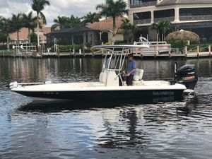Used Shearwater 23 LTZ Saltwater Fishing Boat For Sale